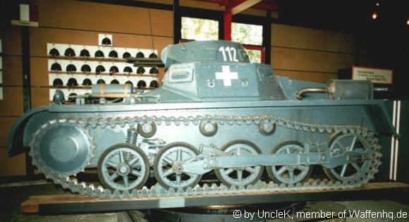 WaffenHQ Panzerkampfwagen I SdKfz 101