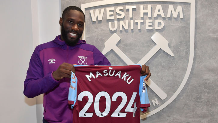 Arthur Masuaku signed a new contract in the summer