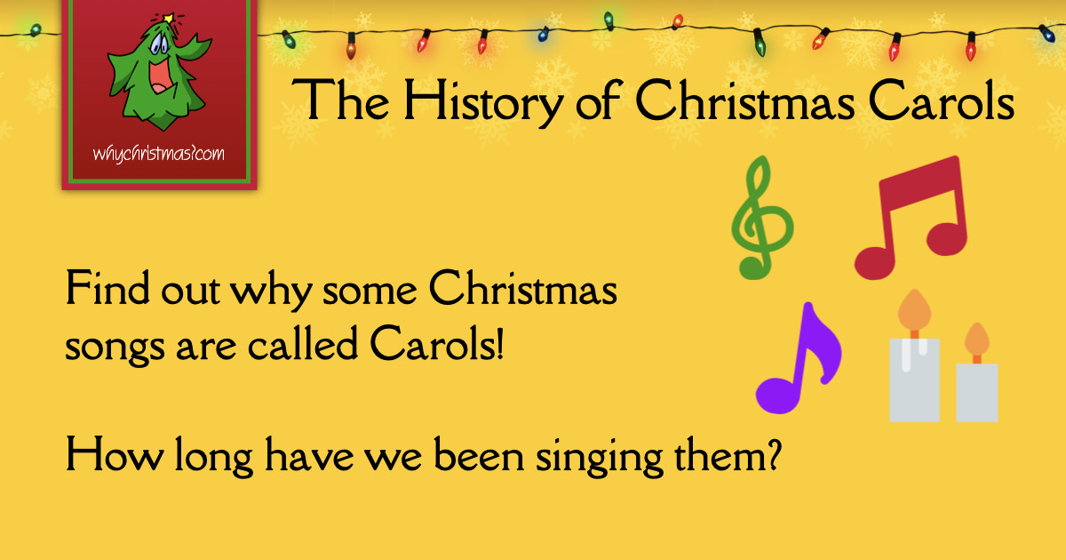The History Of Christmas Carols Christmas Customs And