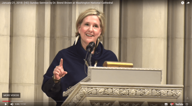 The Importance of Belonging – Brené Brown
