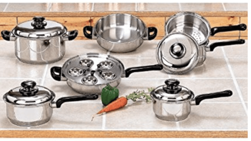 waterless cookware comparison, Why is Saladmaster so expensive