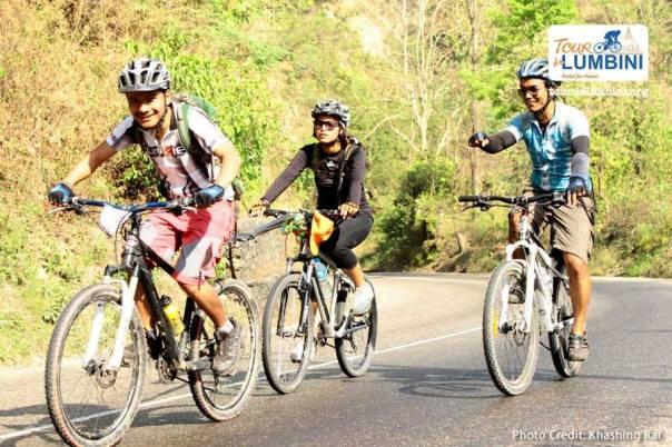 Tour De Lumbini 2014 khasing rai