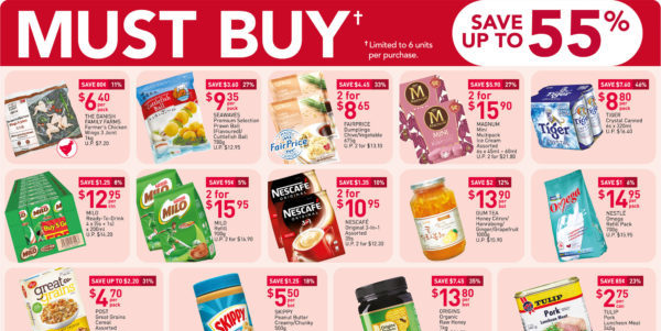 ntuc fairprice sg your weekly saver