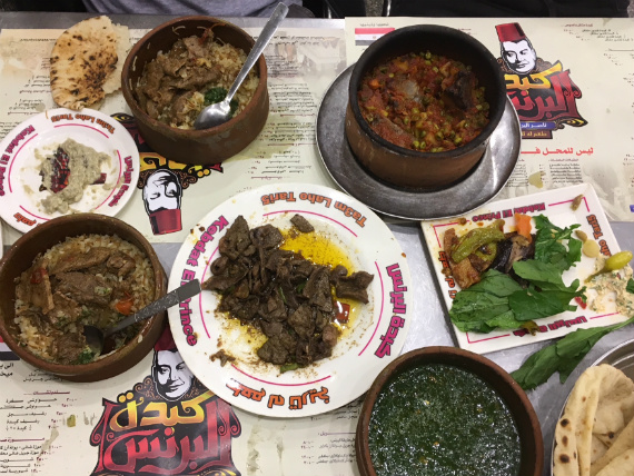 Food fiesta at Cairo's Kebdet Elprince