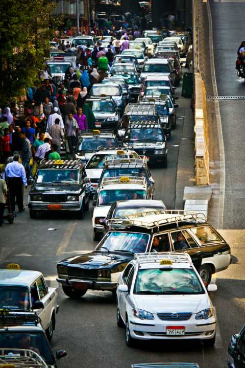 Cairo Traffic via flickr by Asim Bharwani