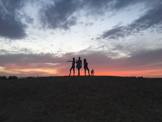 Sunset at Marsa Shagra Village by Iman Hosni