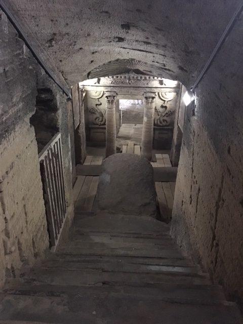 The Catacombs of Kom El Shoqafa by Passainte Assem