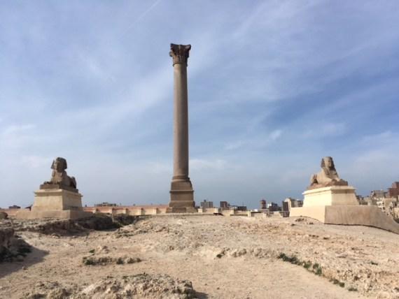 Pompei's Pillar by Passainte Assem