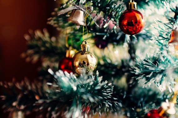 Christmas tree via unsplash