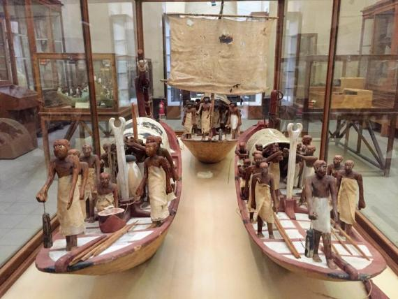 Different boat styles in Ancient Egypt by Bassem Sameh