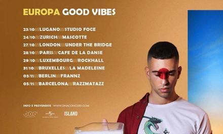 La gira europea de Mahmood, con paradas en España
