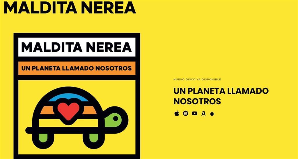 'Un Planeta Llamado Nosotros' es el octavo disco de Maldita Nerea