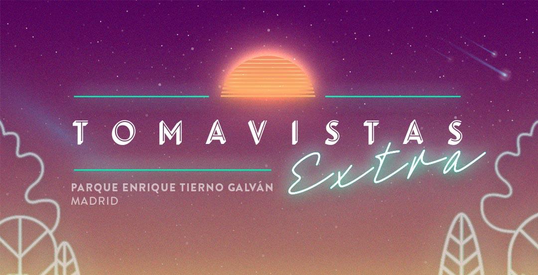 Tomavistas Extra despedirá el verano en el Parque Enrique Tierno Galván de Madrid