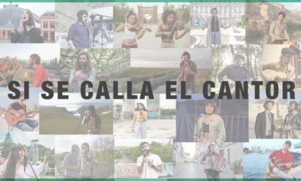 """""""Si se calla el cantor"""": una treintena de artistas reivindican la cultura segura"""