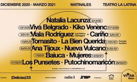 Nace el festival Madrid Brillante con los conciertos de Natalia Lacunza, Mala Rodríguez y muchos más