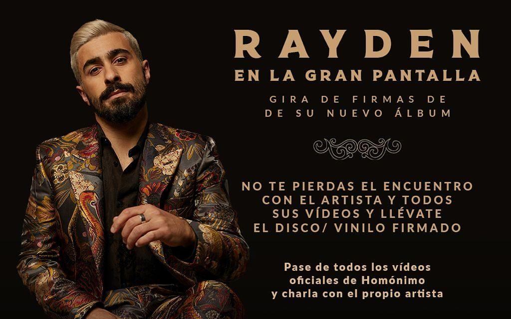 Rayden lleva su nuevo disco 'Homónimo' a la gran pantalla