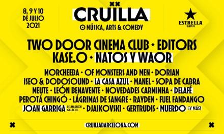 El Festival Cruïlla reafirma la confianza en su edición 2021 incorporando nuevos artistas