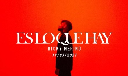 """""""Es lo que hay"""": Ricky Merino lo tiene claro en su nuevo tema"""