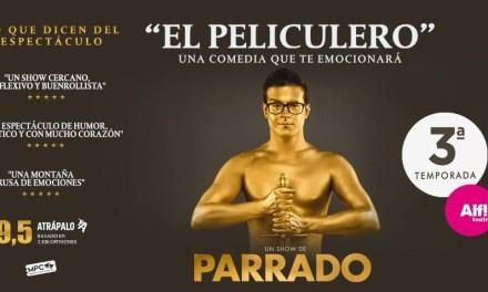Risas y reflexión de la mano de Víctor Parrado en 'El Peliculero'