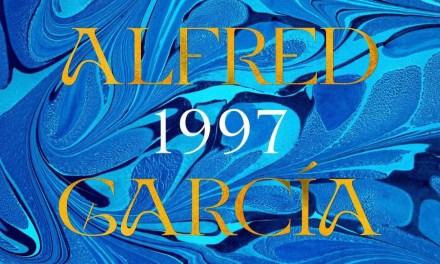 Alfred García publicará el 29 de octubre su segundo disco, '1997'