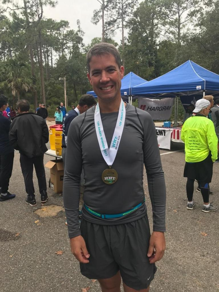 Age Group winner at Hilton Head 10k