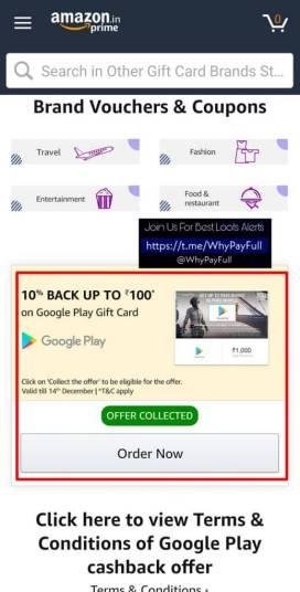Google Pay Gift Card 5