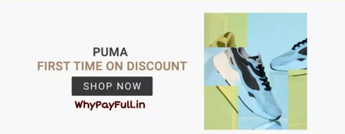 Puma Branded Shoes - First time on discount