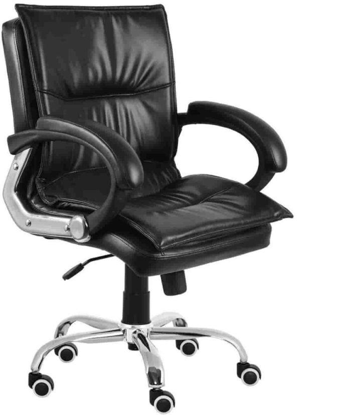 Da URBAN® Miller Medium Back revolving Office Chair Best Office Chairs in India min