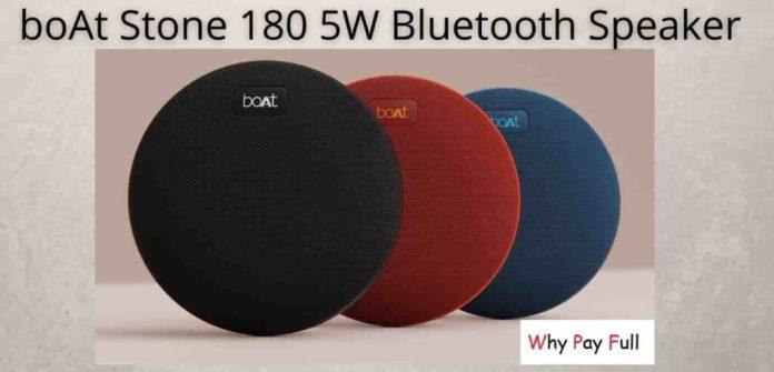 boAt Stone 180 5W Bluetooth Speaker