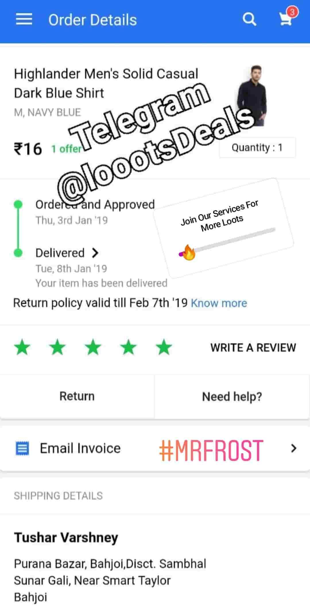 Flipkart deals Best Telegram Channel Whypayfull