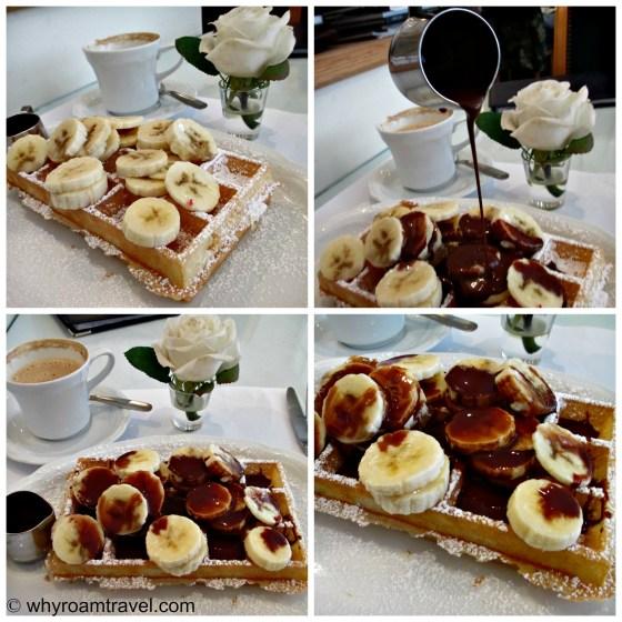 Belgian waffles | www.whyroamtravel.com