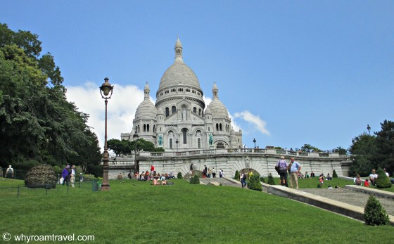 Sacre Coeur in Paris | WhyRoamTravel.com