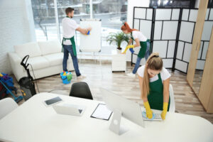 How do you motivate employees to keep the office clean