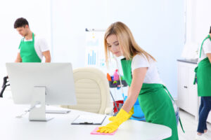 Who is responsible for cleanliness within the workplace