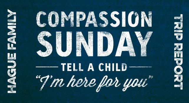 Compassion International - Columbia - Hague Family
