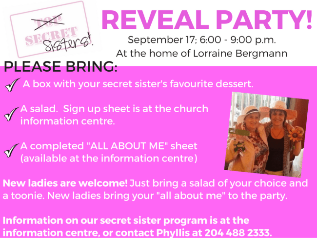 Secret Sisters Reveal