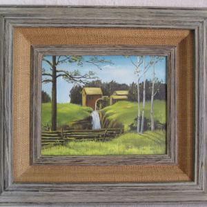 Original Art Grist Mill