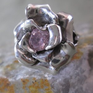 Kean Tourmaline Rose Ring