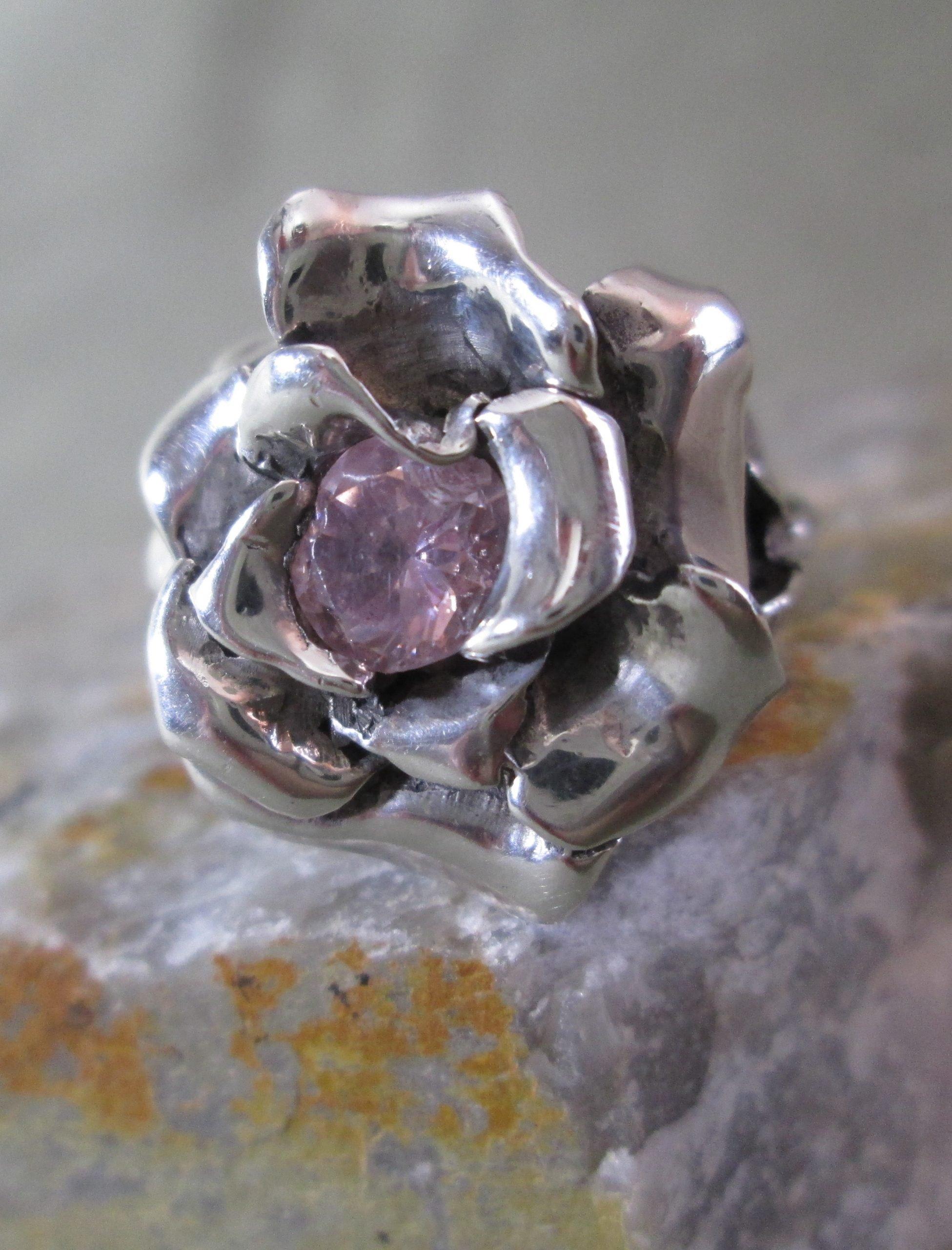 Kean Tourmaline Rose Ring
