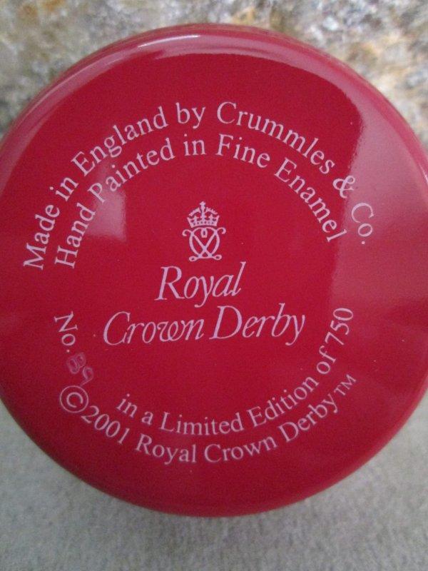 Royal Crown Derby Donkey