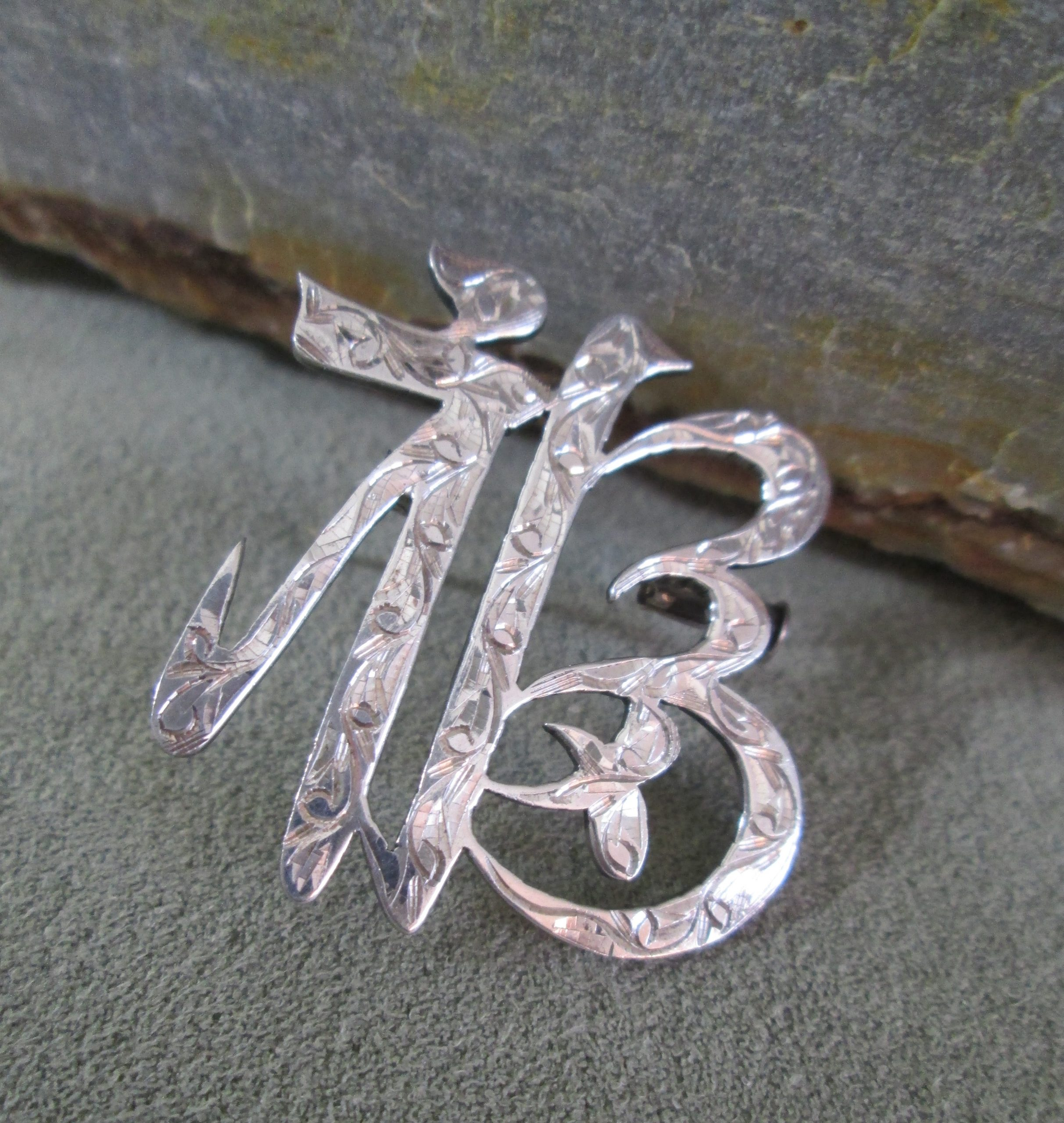 Sterling Silver Happiness Brooch