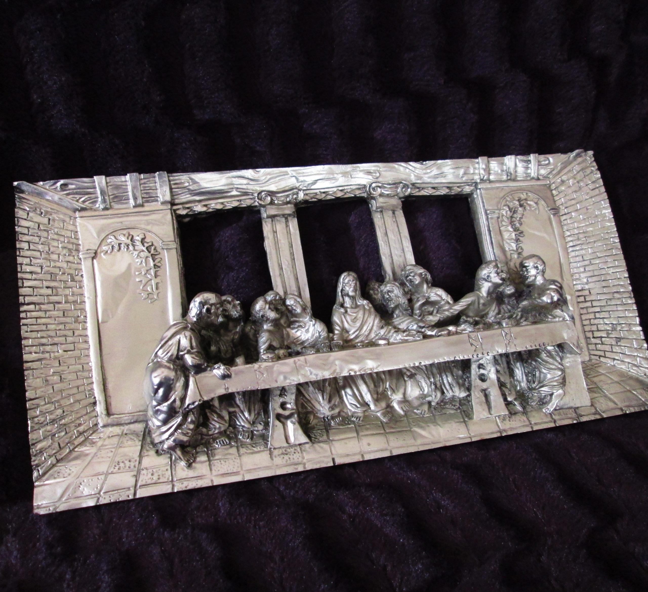 Architectural Last Supper High Relief