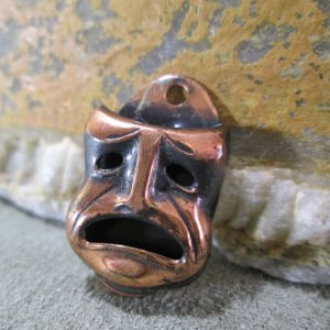 Drama Theater Mask Charm
