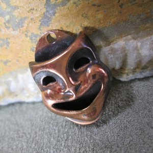 Comedy Theater Mask Charm