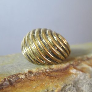 Artisan Bronze Dome Ring