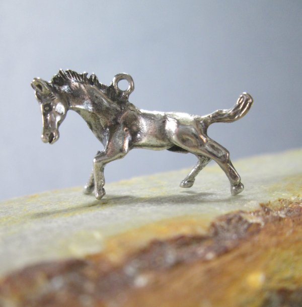 Sterling Silver Horse Charm