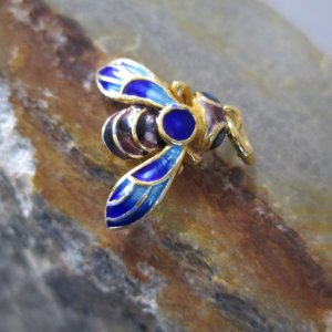 Cloisonne Honey Bee Charm