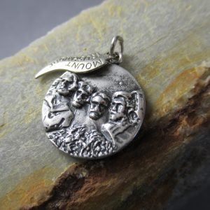 Sterling Silver Mount Rushmore Charm