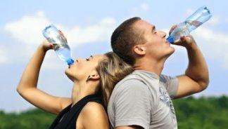 Drink Water  - Suncream in March