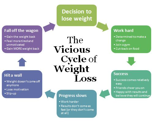 Have you fallen off the weight loss wagon